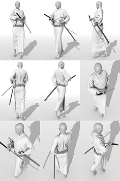 Action Pose Reference, Human Poses Reference, Pose Reference Photo, Action Poses, Anatomy Reference, Hand Reference, Samurai Poses, Drawing Body Poses, Drawing Hair