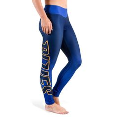 St. Louis Blues Women's Gradient Print Leggings - Navy