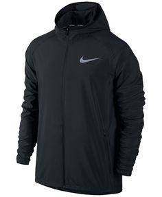 306db1bada Nike Men s Essential Hooded Water-Resistant Running Jacket
