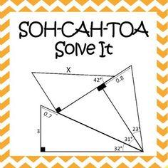 SOH-CAH-TOA Solve It