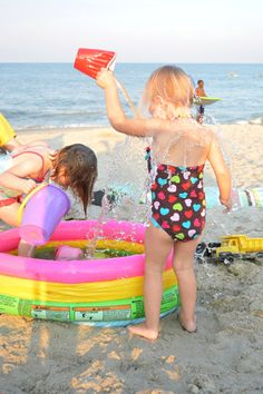 25 ideas for kids at the beach. Add #Sandythebeachdoll to this list!