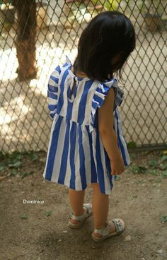 Dominico Stripe Dress (2C)