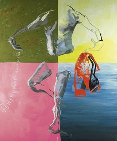 Martin Kippenberger (German, 1953-1997), Untitled (from the series of Hand Painted Pictures), 1992. Oil on canvas.