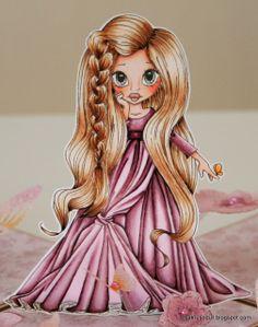 Copic: Skin: BV00-E93-11-00-000-0000 Hair: E49-57-53-33-50 Dress: RV99-97 (made myself) -95-93-91-000-0000 Eyes: BG96-93 -90  - bjl