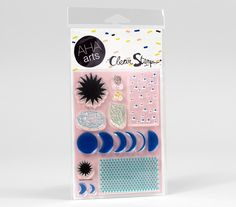 Moon Phases - clear stamps by AHA arts
