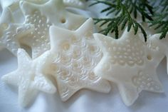 Zimna porcelana - ozdoby choinkowe