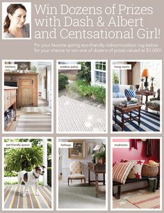 Win One of $3,000 Worth of Prizes with Centsational Girl and Dash & Albert!