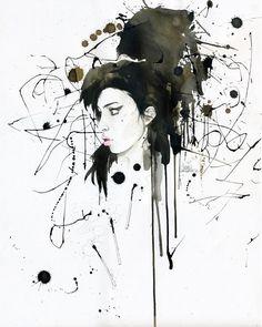25 Beautiful Grunge Art works by Lora Zombie - Psychedelic Paintings. Read full article: http://webneel.com/webneel/work/lora-zombie-grunge-art-20 | more http://webneel.com/paintings | Follow us www.pinterest.com/webneel