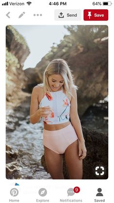 ROOLEE Swim 2018 You are in the right place about summer bathing suits outfits Here we offer you the Summer Bathing Suits, Cute Bathing Suits, Summer Suits, Summer Wear, Bathing Suits For Teens, Swim Suits Bikinis, Bathing Suits One Piece, Pink Summer, Target Bathing Suits