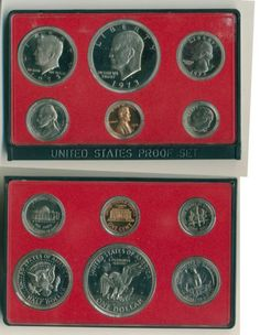 1973-S US Mint Proof Set in Coins & Paper Money, Coins: US, Proof Sets | eBay