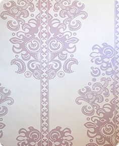Wallpaper - grey on white.