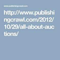 All About Auctions - Pub Crawl