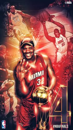 Before he was #Shaqtin, The Diesel racked up 4 Championships!