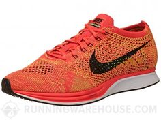 With the innovative Flyknit Racer, Nike submits its bid for the best fitting road-racing shoe ever. The upper is constructed from a single knit panel for a seamless and socklike fit that adapts to the shape of the foot through the gait cycle while reducing irritations on the foot. The responsive midsole features a Zoom Air unit in the forefoot for lightweight protection, suitable for distances up to the marathon. Get it here…