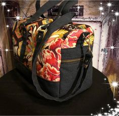 Sac Boston cousu par