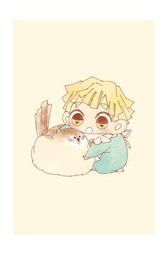 Twitter Anime Chibi, Manga Anime, Anime Art, Demon Slayer, Slayer Anime, Zen, Ghost Pokemon, Funny Doodles, Cute Pastel Wallpaper