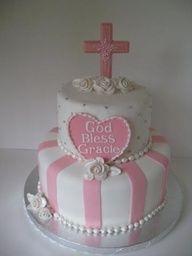 Pretty first communions cake