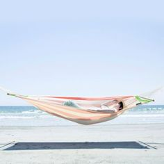 Summer Stripe Hammock in House+Home FURNITURE Outdoor Spaces at Terrain