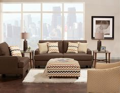 Simple and Inviting  #Casual #Cozy #Furniture
