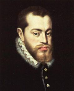 Philip II-King of Spain and husband of Queen Mary I of England