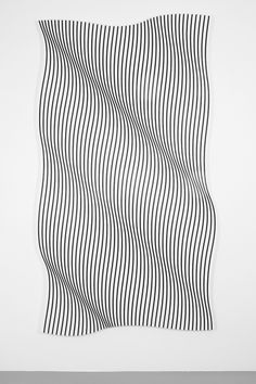 "knowiing: "" Op art by Philippe Decrauzat. Line Patterns, Textures Patterns, Arte Linear, Plakat Design, Art Graphique, Airbrush Art, Grafik Design, Line Design, Pattern Design"
