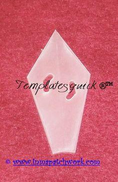 Dresdem Angulo Templatesquick ® ™ plantilla plastico reutilizable