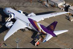 Thai Airways International HS-TQA Boeing 787-8 Dreamliner aircraft picture