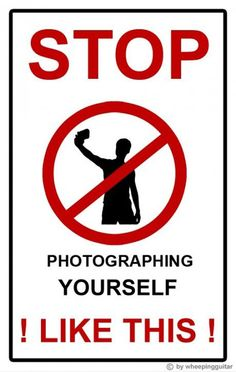 Stop it....seriously, I hate it when people do this. You ALL look like morons with HORRIBLE photography skills!!! ESPECIALLY the mirror shots!