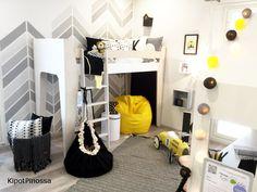 Seinäjoen Asuntomessut, kohde 39 Salmiakki childrens room, children room, scandinavian style, scandinavian home
