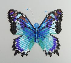 Clown Butterfly Pattern and Tutorial by WizardIslandDesigns