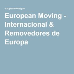 European Moving is an experienced low-cost removals company operating across Europe. Free Quotes, United Kingdom, How To Remove, The Unit, Europe, England