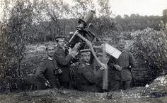 Ametralladora antiarea alemana de la Primera guerra mundial
