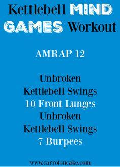 Kettlebell Mind Games Workout