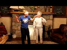 My 85 year old mother doing Cupid Shuffle for our family talent show.