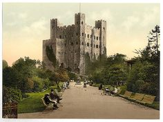 [The castle, Rochester, England]  (LOC)