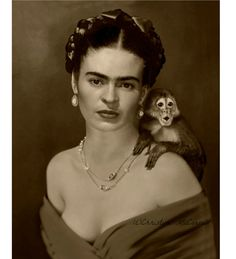 Frida Kahlo Instant Digital Download Art Print di ARTDECADENCE