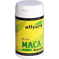 MACA Kapseln 500 mg:   Packungsinhalt: 60 St Kapseln PZN: 00744485 Hersteller: allcura Naturheilmittel GmbH Preis: 7,56 EUR inkl. 7 %…