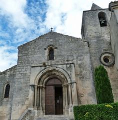 A church in the village of Baux, Provence, France