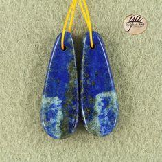 EA12702  Beautiful Lapis Lazuli Earrings Bead by Artiststone