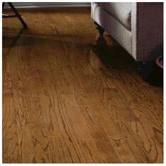 "Bruce Flooring Springdale Plank 3"" Engineered Oak Hardwood Flooring in Saddle"