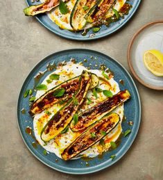 Salad, starter or side: Yotam Ottolenghi's courgette recipes   Food   The Guardian Yotam Ottolenghi, Ottolenghi Recipes, Brunch Recipes, Vegetable Recipes, Vegetarian Recipes, Veggie Meals, Gnocchi, Saffron Recipes, Appetizers