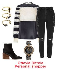 Senza titolo #43 by ottavia-ditroia on Polyvore featuring polyvore, fashion, style, Valentino, River Island, Gabriela Hearst, Versace, Noir Jewelry and clothing