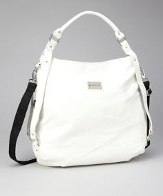 Take a look at this Kenneth Cole Reaction White Hobo by Kenneth Cole Reaction on #zulily today!