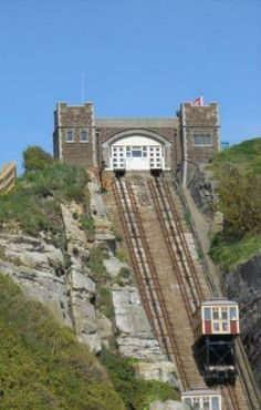 How to get to the beach in Hastings
