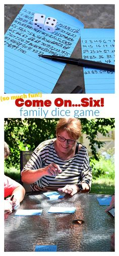 Come On Six is a fun family game that is easy to set up, fun to play, and downright hilarious. The perfect indoor game for your holidays and parties! www.kidfriendlythingstodo.com