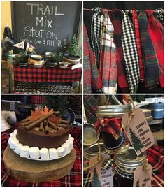 This party submitted by Natalie Mudd of Wonderfully Made Events out of Lake Zurich IL is sure to have you craving a campfire and s'mores by the time your finished! Rustic Camping Birthday Party Don's