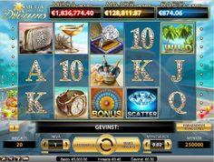 Noen internettbaserte spilleautomater er knyttet sammen i en progressive jackpot. Med en progressive jackpotmaskin betaler alle som legger mynter i en spilleautomat som er lenket til den progressive jackpotten inn i jackpotten som resulterer i en enorm premiesamling. - http://www.spilleautomater-online.com/spill/mega-fortune-jackpot-spilleautomat