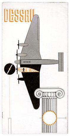 Bauhaus – Schmidt, Joost Dessau. Faltprospekt. Mit einigen Abbildungen…