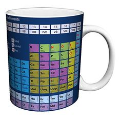 Periodic Table of Elements Decorative Educational Science Porcelain Gift Coffee (Tea, Cocoa) 11 Oz. Mug Culturenik http://www.amazon.com/dp/B00PMCDI0K/ref=cm_sw_r_pi_dp_0PFdwb1GX6JF1