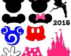 Mouse Ears Set instant download cut file - studio3, studio, svg, dxf, eps, ps
